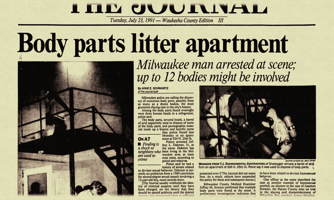 Milwaukee S Crime Of The Century 25 Years After Jeffrey