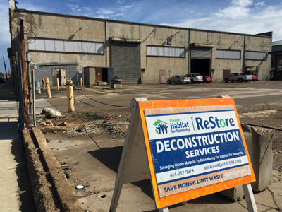 Materials salvaged by ReStore help fund Habitat's home construction work