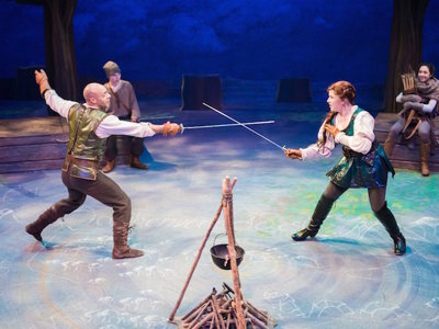 First Stage's brand new version of 'Robin Hood' inspires a cascade of laughs Image