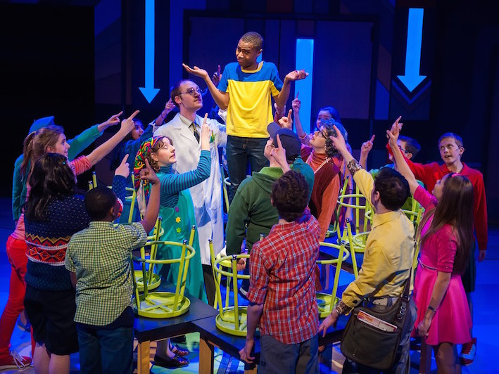 The Mollusk Cast brings Big Nate to joyous life at First Stage