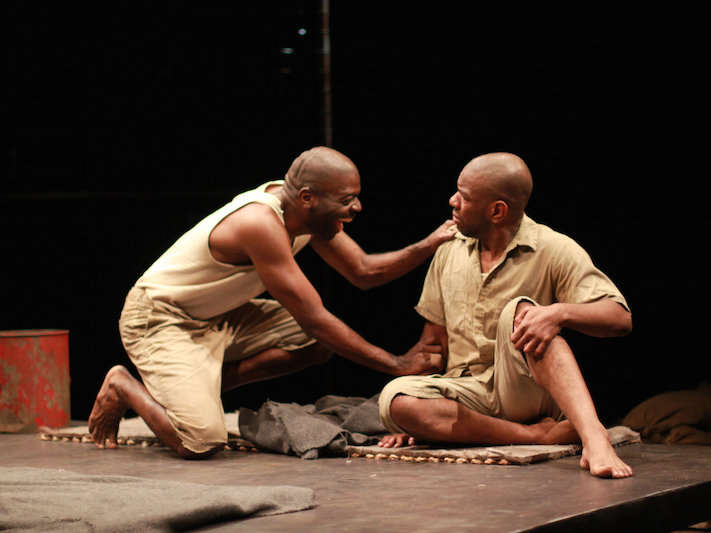 "LaShawn Banks and Chilke Johnson star in ""The Island"" at APT in Spring Green"