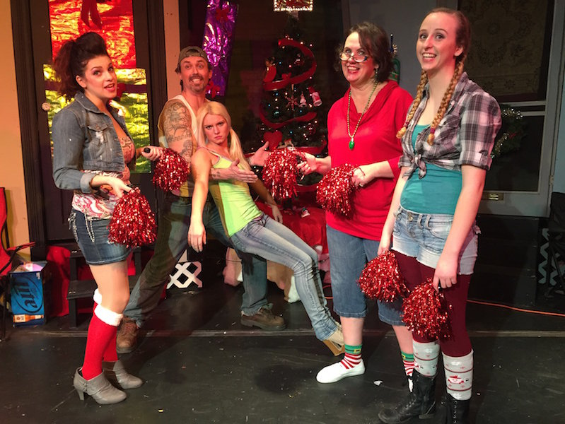 Trailer Park Christmas.Theatre Unchained S Trailer Park Musical Hits All The
