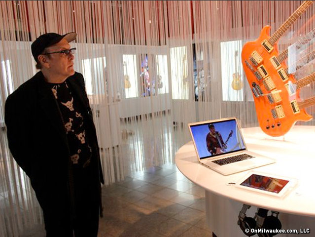 Rockford Exhibit Celebrates Cheap Trick S Rick Nielsen