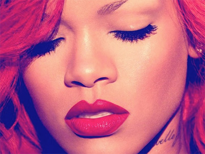 Rihanna voiced some of her new CD in Milwaukee