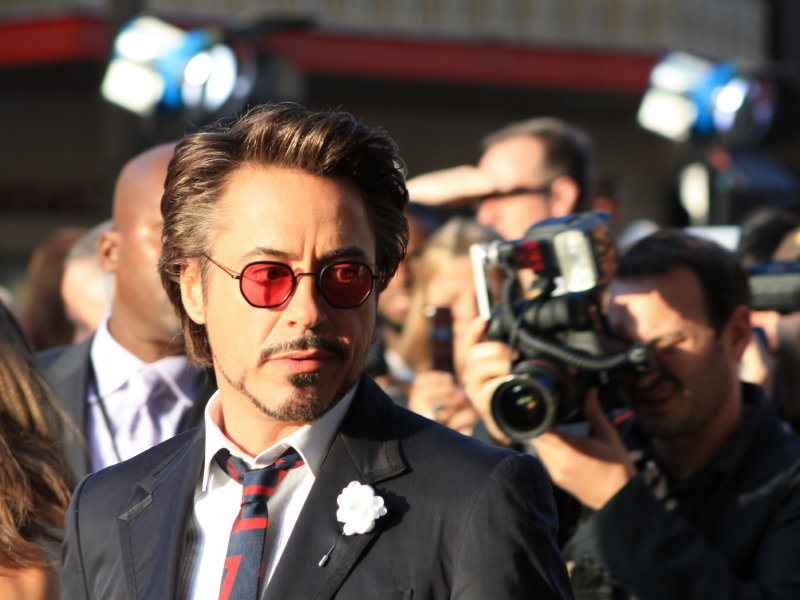 Robert Downey Jr. enjoyed the food and drinks at The Packing House on Layton Avenue on Thursday night.