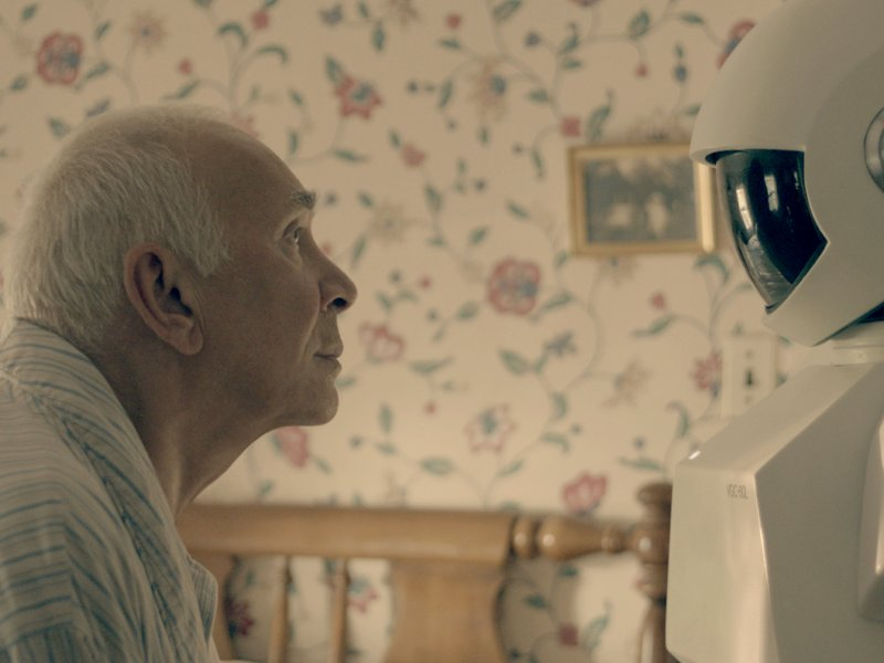 "Frank Langella stars in ""Robot & Frank,"" in theaters now."