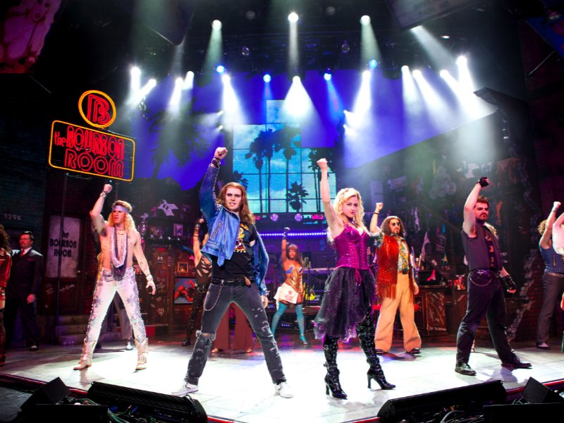 """Rock Of Ages"" is an '80s musical / concert experience."