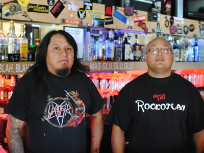 Rockotlan: la casa de heavy metal, unique Mexican dishes