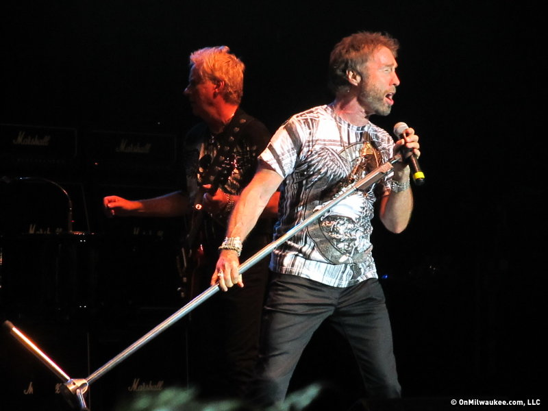 On stage, Paul Rodgers is a top-notch entertainer.