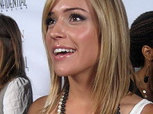 Jay Cutler's girlfriend Kristin Cavallari.