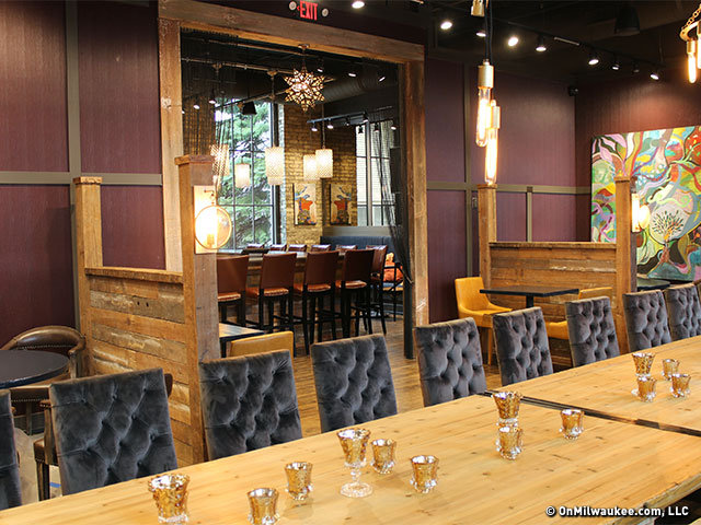 The Well Ointed Dining Room At Kindred Offers Plenty Of Spots To Cozy Up With Your Special Someone