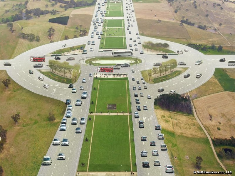 The solution to Zoo Interchange woes: a roundabout!