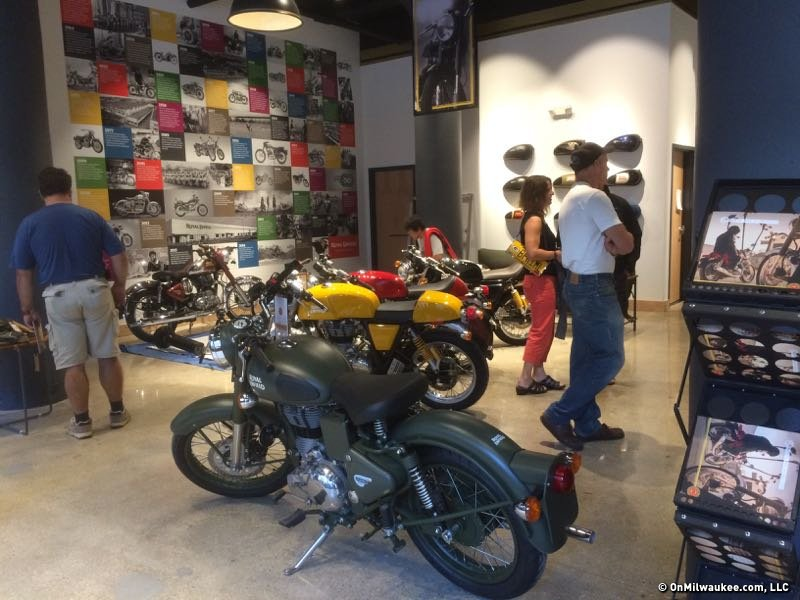A grand opening celebration this weekend marked the opening of Royal Enfield Motors in the Third Ward.