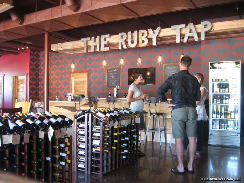The Ruby Tap Self Service Wine Bar Comes To Tosa