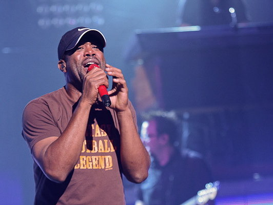 Darius Rucker, Thursday, at the Riverside Theater.