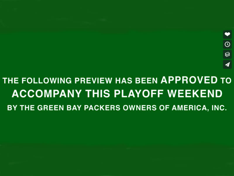 Watch: Get ready to 'run the table' with this Green Bay Packers hype video
