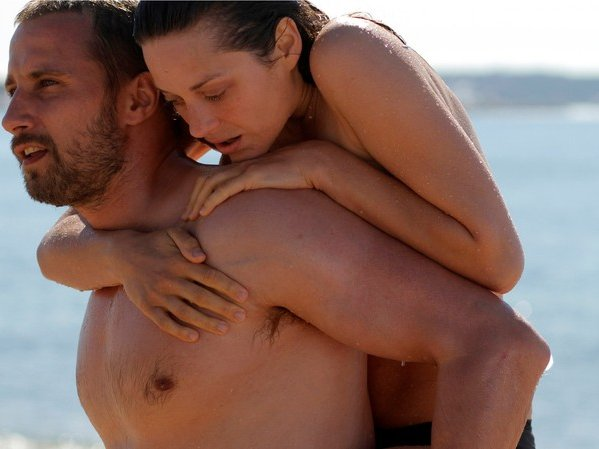 "Matthias Schoenaerts and Marion Cotillard star in ""Rust and Bone."""