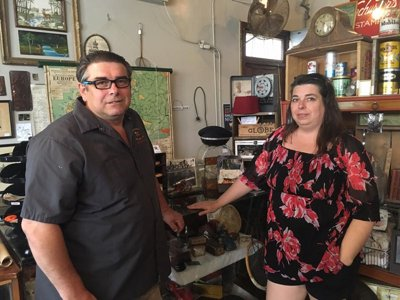 Rusty Sprocket shop owners opening Sprocket Cafe Image