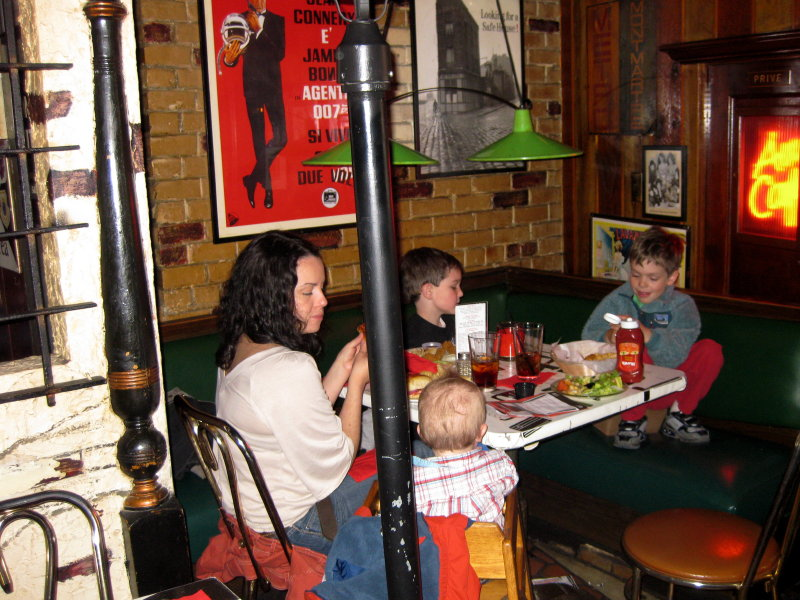 On A Recent Saturday At Lunch Time, Half The Tables Had Kid Diners.