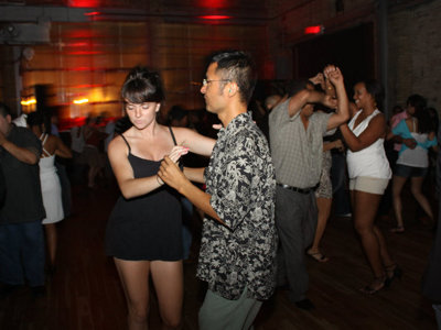 Saturday night means salsa at the Wherehouse