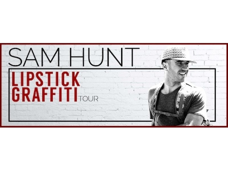 Sam Hunt plays The Rave April 4.