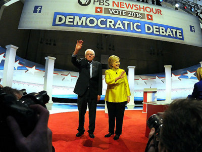 Sanders and Clinton so similar yet so different in Milwaukee debate