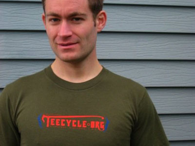Teecycle's Tim Cigelske.