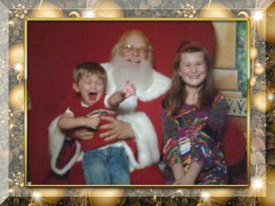 For some kids, Santa is scary