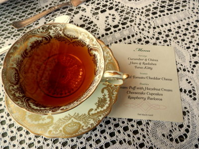 Victorian high tea Image