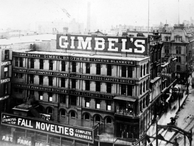 Geenen relives the glory days of schuster 39 s and gimbels for Craft stores in milwaukee