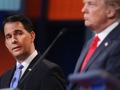 Walker vs. The Donald Image