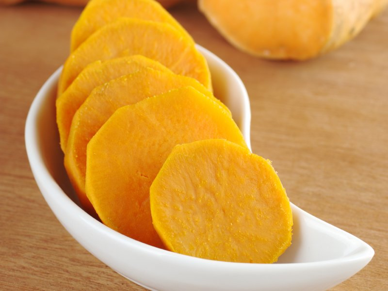 Simply sweet potatoes with Scott Pampuch's savory recipe.