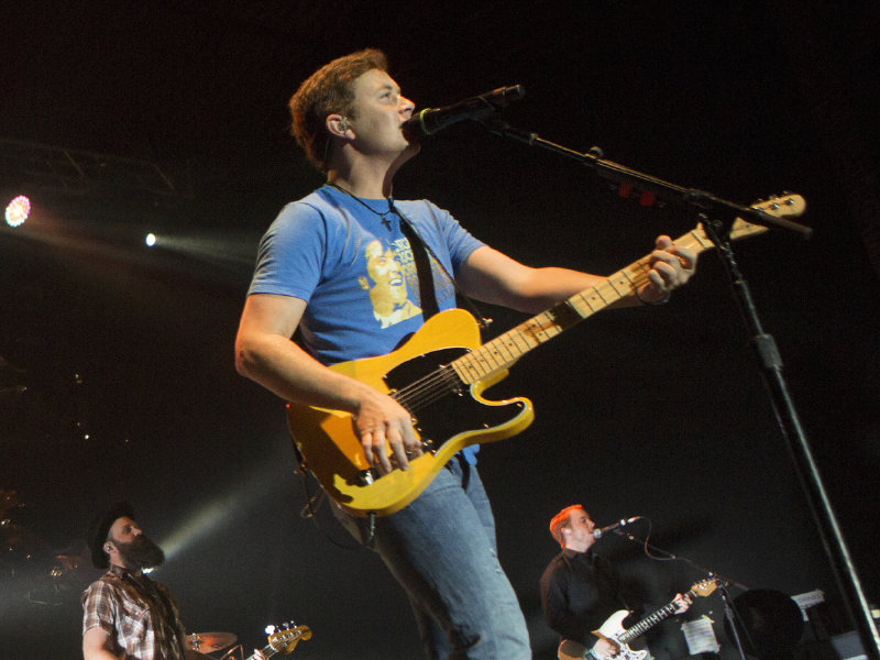 Scotty McCreery performed at Summerfest Thursday night.