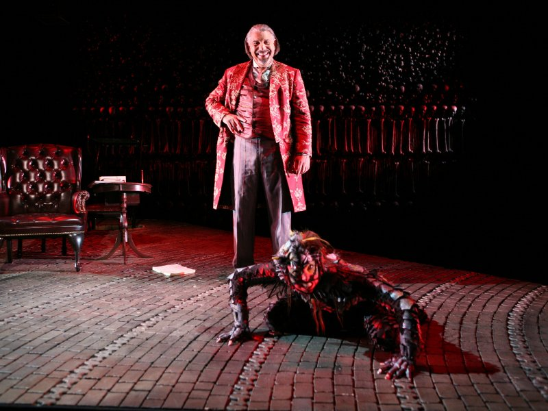 "Max McLean is positively evil as the demon Screwtape in C.S. Lewis' ""The Screwtape Letters,"" coming Saturday to the Pabst."