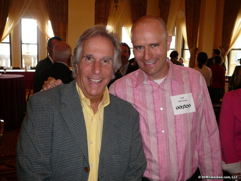 Is a photo with The Fonz is better than an autograph?