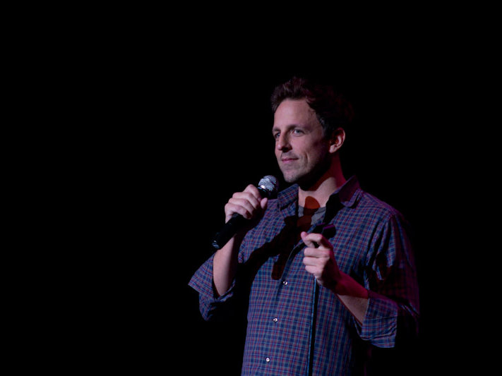 Seth Meyers at The Pabst.