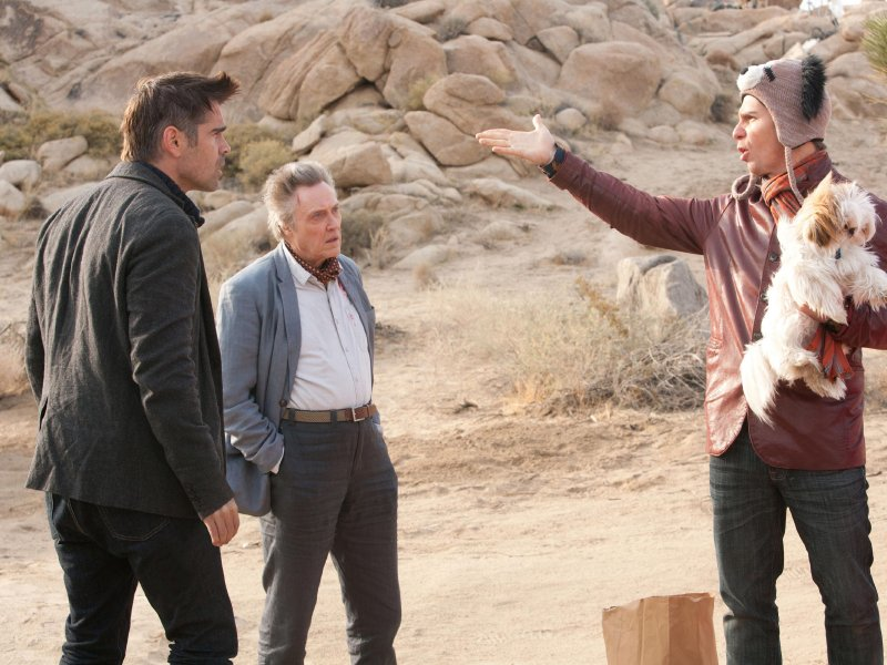 "Colin Farrell, Christopher Walken and Sam Rockwell star in ""Seven Psychopaths,"" in theaters now."
