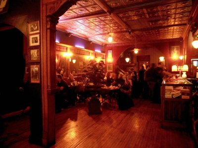 Shaker's Cigar Bar combines old world atmosphere and even older spirits