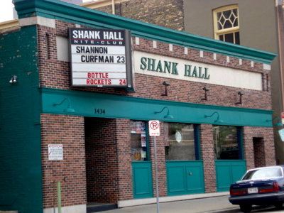Shank Hall announces schedule changes