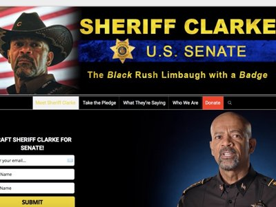 Sheriff Clarke for Senate Image