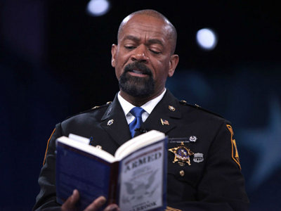 Sheriff Clarke responds to recent complaint with Facebook meme threat