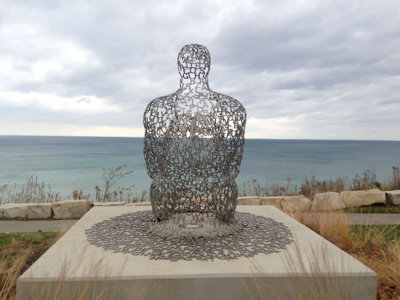 UPDATE: Shorewood sculpture accused of anti-Semitism temporarily removed