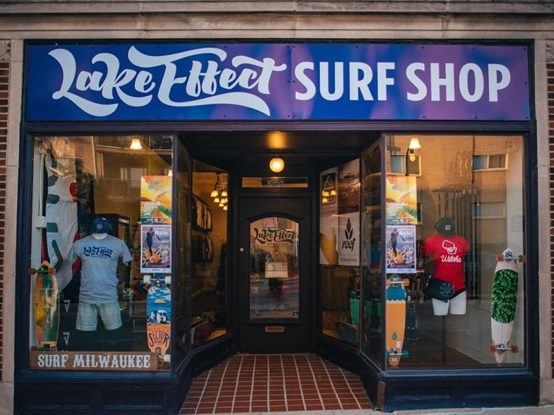 City's only surf shop swells with first-year success