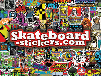 Web site owner andy maske wants your vintage skateboard stickers conatct him via skateboard stickers com