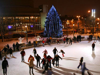Slice of Ice opens Friday at Red Arrow Park