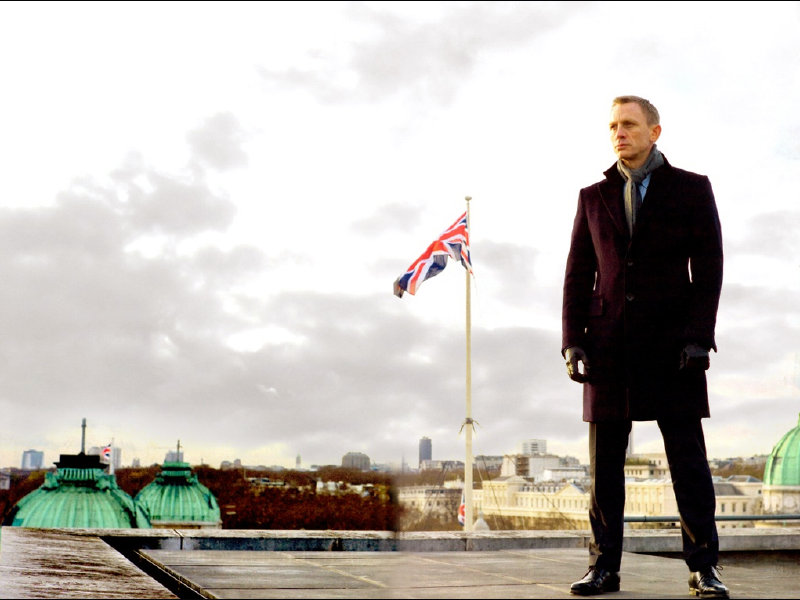 "Daniel Craig returns as James Bond in ""Skyfall,"" in theaters now."