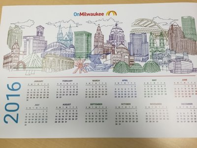 Milwaukee calendar Image