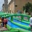 Was the giant slip 'n' slide a success? Image