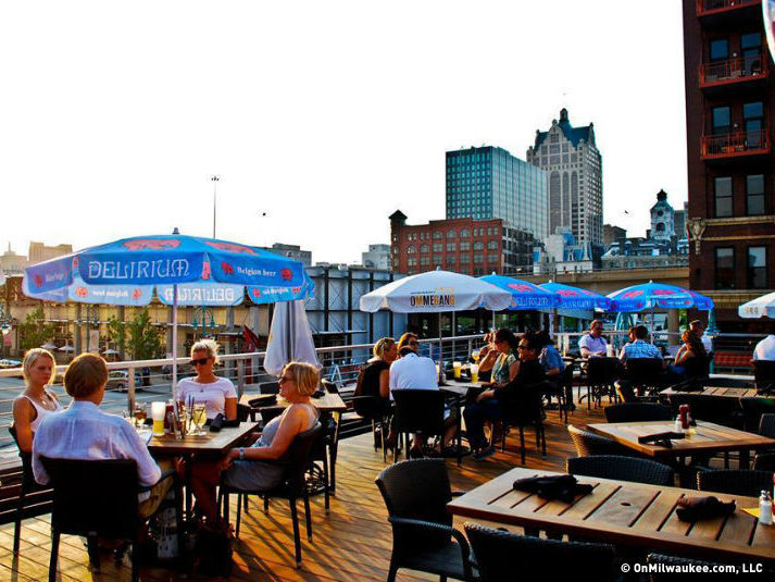 Benelux S Rooftop Area Is Just One Of The Perfect Places To Host A Small Gathering Or Party In Milwaukee