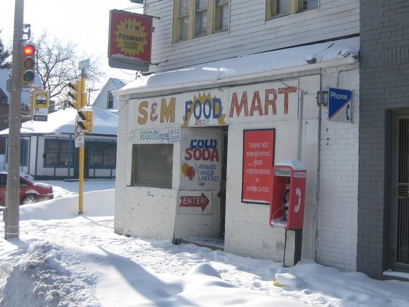 S & M Food Mart, 2501 N. Holton St., might sell licorice whips, but probably not leather ones.